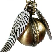 Steampunk-Pendant-Watch-Harry-Potter-Inspired-Golden-Snitch-Necklace-Timepiece-In-Antique-Bronze-From-H-H-UK-0