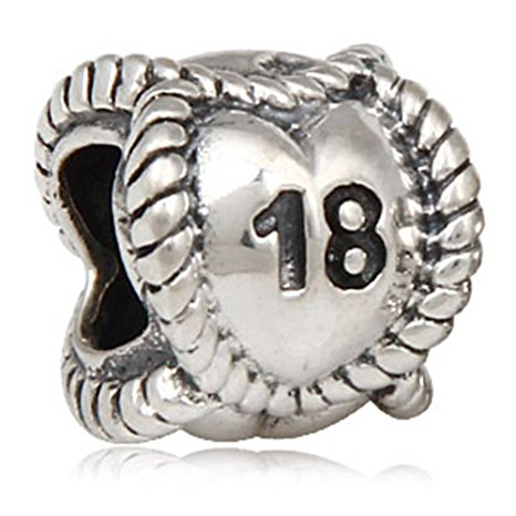 Pandora 18th Birthday Milestone Charm