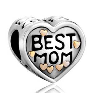 Pandora Best Mom Heart Charm