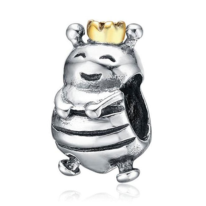 Pandora Gold Plated Queen Bee Charm