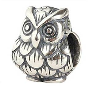 Pandora Harry Potter Owl Charm