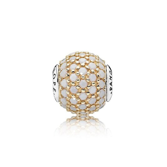 Pandora Hope Opaque White CZ Essence Charm