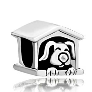 Pandora Sleeping Puppy Charm